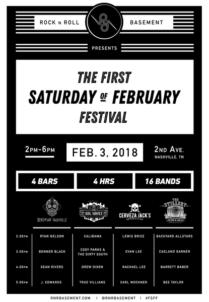 Rock N Roll Basement Announces F.S.F.F Lineup