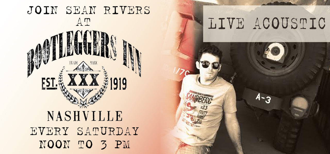 Sean Rivers Announces Recurring Weekend Shows at Bootleggers Inn