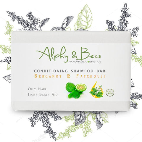 Conditioning Shampoo Bar Bergamot & Patchouli