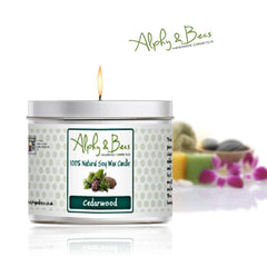 Eco-Soy Candle - Cedarwood - 200gr.