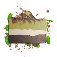 100% Natural Soap - Dark Chocolate & Mint