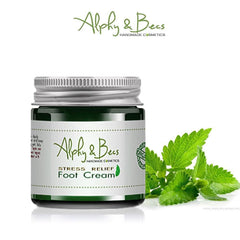 Organic Foot Cream - Lavender - Cypress - Peppermint -