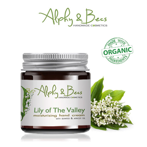Organic Moisturising Cream - Lily Of The Valley