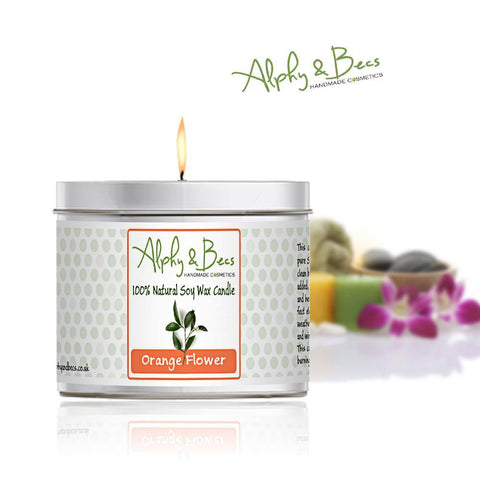 Eco-Soy Candle - Orange Flower - 200gr.