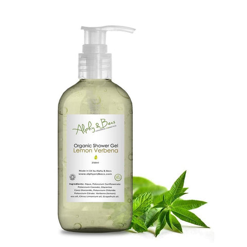 Organic Shower Gel - Verbena