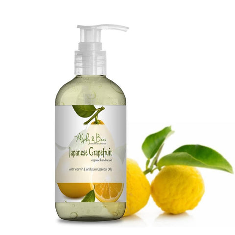 Organic Hand Wash - Japanese Grapefruit