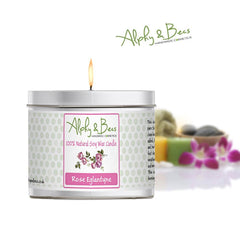 Eco-Soy Candle - Rose Eglantyne - 200gr.