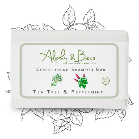 Conditioning Shampoo Bar Tea Tree & Mint