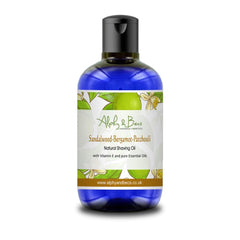 Natural Shaving Oil - Sandalwood-Bergamot-Patchouli 250ml