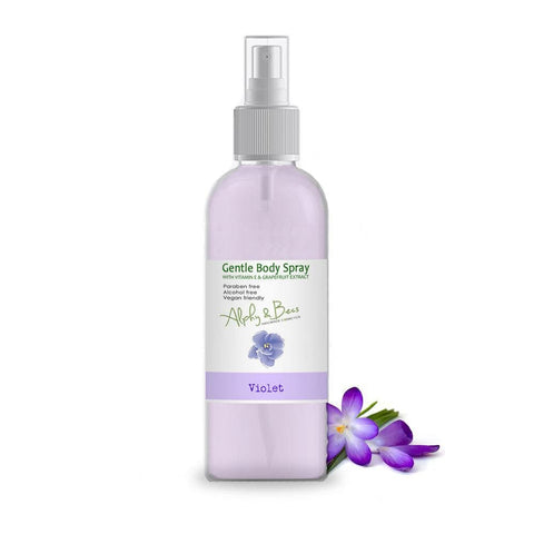 Alcohol Free Mist Gentle Body Spray - Violet -