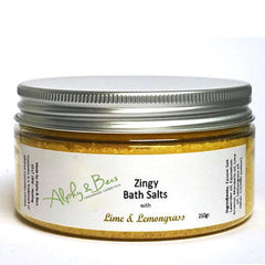 Zingy Bath Salts - Lime & Lemongrass