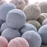 Luxury Bath Bombs with Pink Himalayan Salt