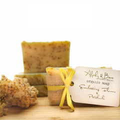Organic Soap Immortelle (Helichrysum) & Patchouli