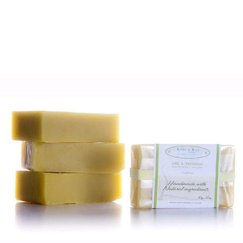 100% Natural Handmade Soap - Lime & Patchouli
