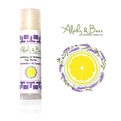 100% Natural Lip Balm - Lavender & Lemon - Soothing, Relaxing