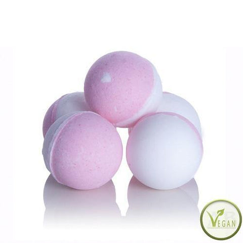 Luxury Bath Bombs - Marshmallow - With Shea Butter