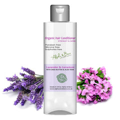 Organic Herbal Conditioner - Lavender & Geranium