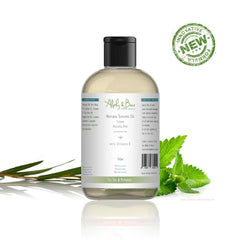 Natural Shaving Oil - Tea Tree & Peppermint 100ml