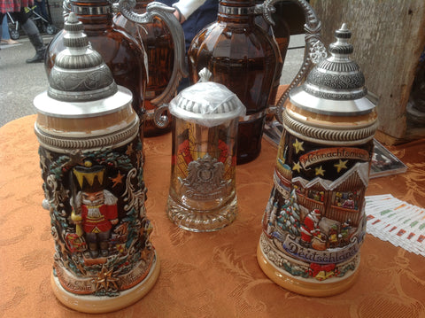 Authentic German Christmas Beer Steins