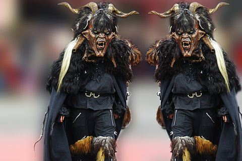 Krampus festival- German folklore- legends