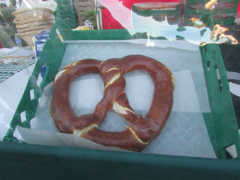 Giant Pretzel - German food