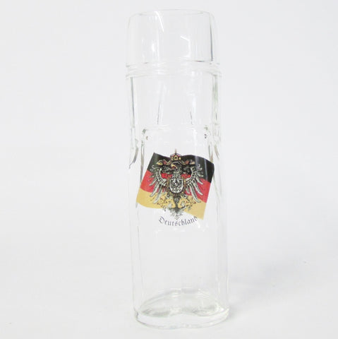 Lederhosen German Eagle & Flag .5L Wheat Beer Glass