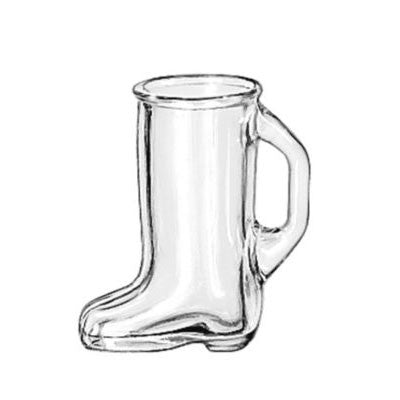 1.5 Oz Cowboy Boot Shot Glass Mug