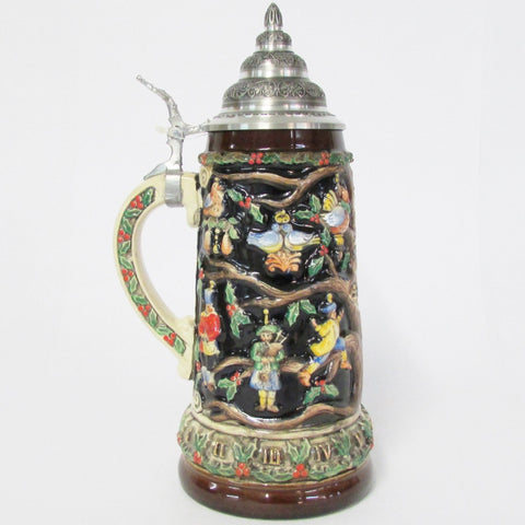 12 Days of Christmas Holiday .75L Beer Stein