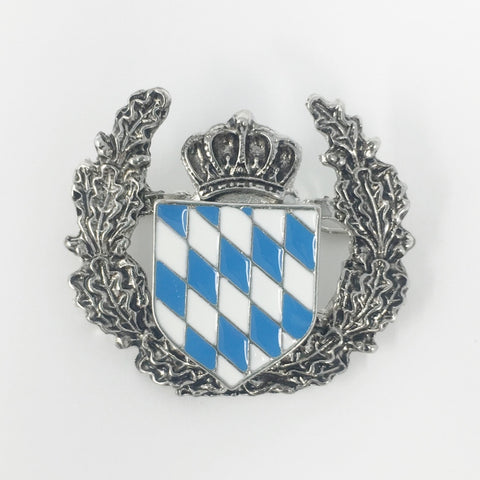 Bavarian Coat of Arms 1.5in Oktoberfest Hat Pin