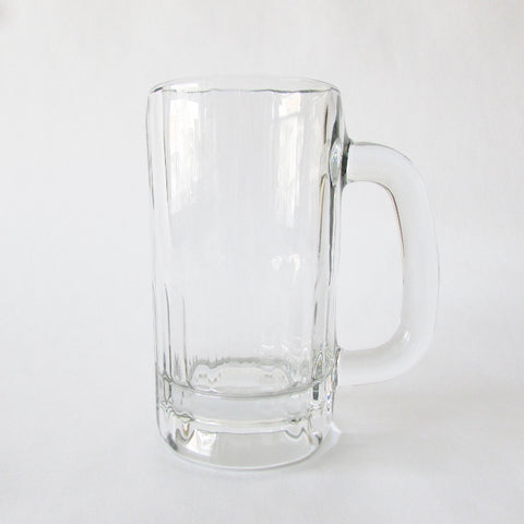 Beer Mug - Heavy Glass 10oz