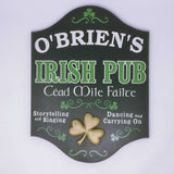 Irish_Cead Mile Failte (115)_Personalized Sign 4393_Home Bar Sign
