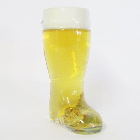 .5L Authentic German Glass Beer Boot - High Quality Collectible