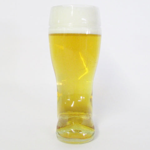 1L Authentic German Glass Beer Boot - High Quality