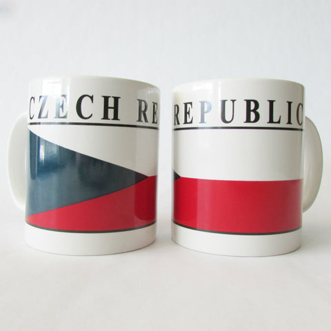 Czech Flag Coffee Cup Mug_12 oz