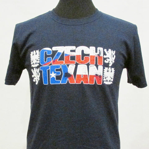 Czech Texan T-Shirt_Navy