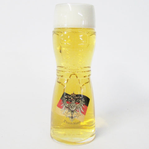 Dirndl German Eagle & Flag .5L Wheat Beer Glass