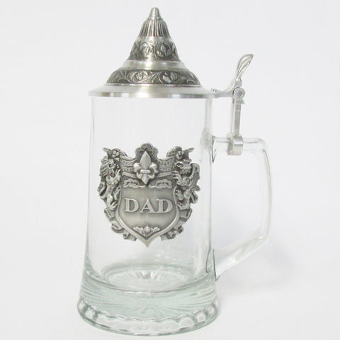 Dad .5L Glass Beer Stein