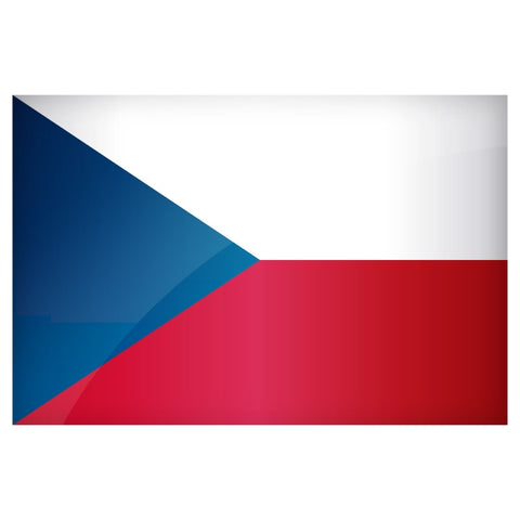 Czech Republic Flag 3'x5'