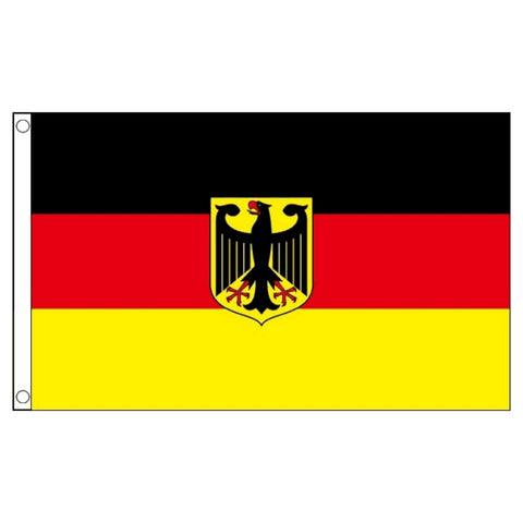 Germany Flag_German National Crest 3'x5' (Exterior Quality)