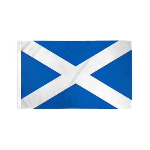 Scotland St Andrews Flag_Scottish Flag 3'x5' (Exterior Quality)