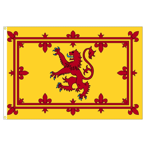 Scotland Lion Flag_Scottish Lion 3'x5' (Exterior Quality)