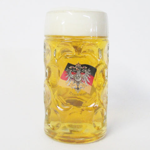 German Eagle & Flag 1L Dimpled Mug (Krug)