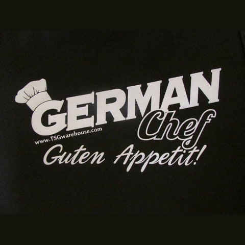 German Chef Apron - Black