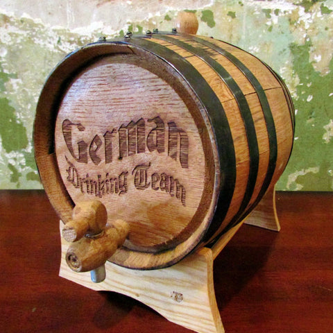 German Drinking Team - Oak Barrel 1L
