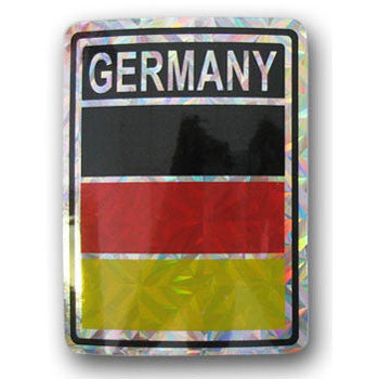 Germany German Flag Decal Sticker