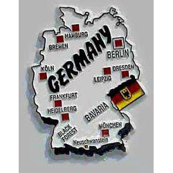 Germany Country_German Flag Magnet