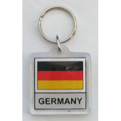 German Flag Keychain Germany