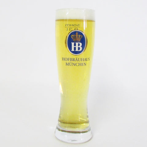 Hofbrauhaus .3L Wheat Beer Glass
