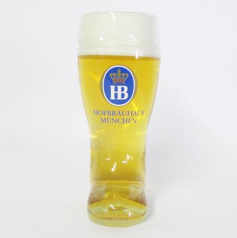 1L Authentic German Beer Boot - Hofbrauhaus Beer