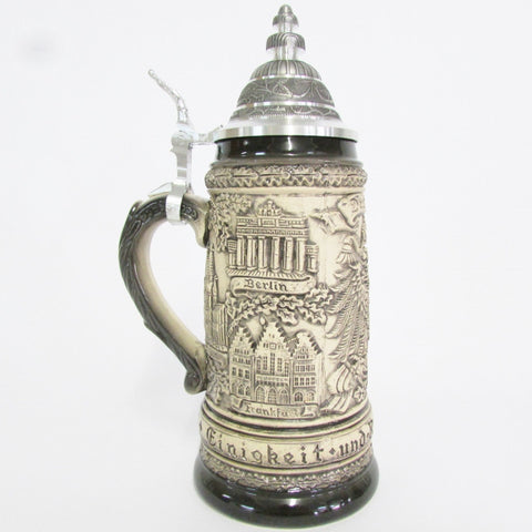 German Oak Leaves .5L Beer Stein